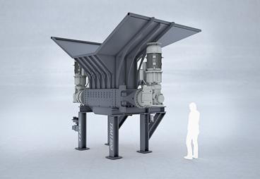 Двухвальный измельчитель TSM1500