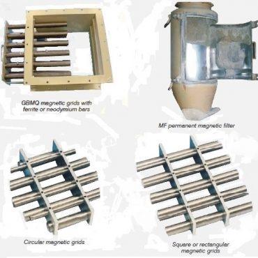 Magnetiniai filtrai ir grotelės